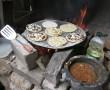 Küche im Hinterhof