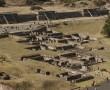 Blick von Sonnenpyramide, Teotichuacan