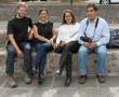 mit Veronica, Laura und Sergio