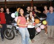 Motorradreisenden-Party, bei Akumal