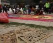 Nebaj - Blumenteppich Osterprozession