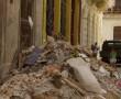 Schutt zerfallener Wohnhäuser