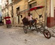Rikscha-Fahrer wartet auf Kundschaft