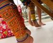 Schmuck der Kuna Indianer
