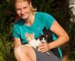 Ulli mit Katzen
