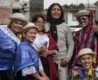 Star der Volksmusik in Ecuador